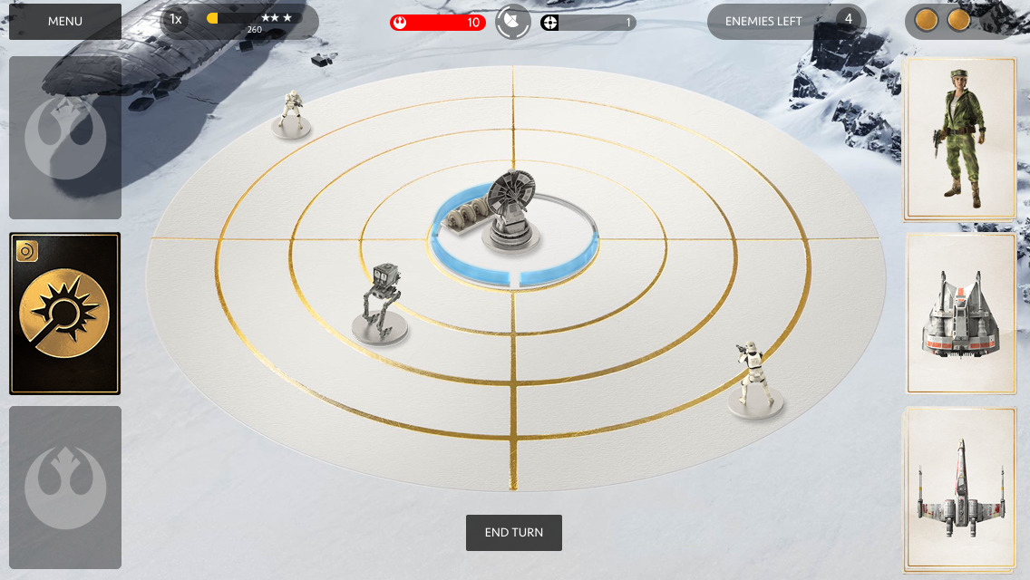Base Command in Star Wars Battlefront Companion