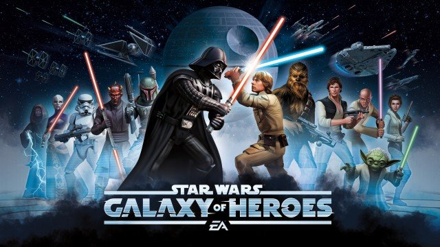 Awaken the Force and play Star Wars: Galaxy of Heroes, out now on iOS