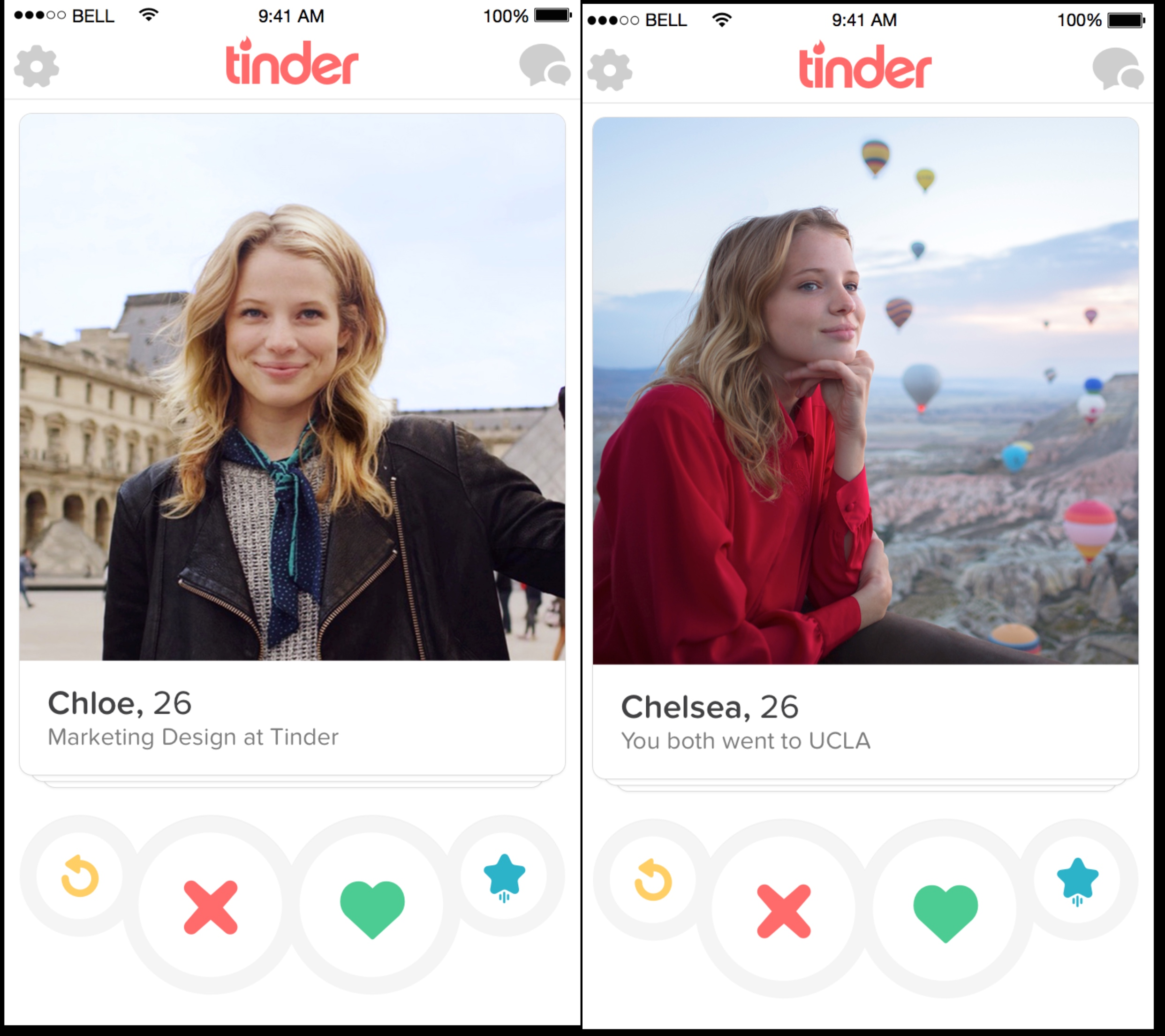 Tinder's smart profiles.