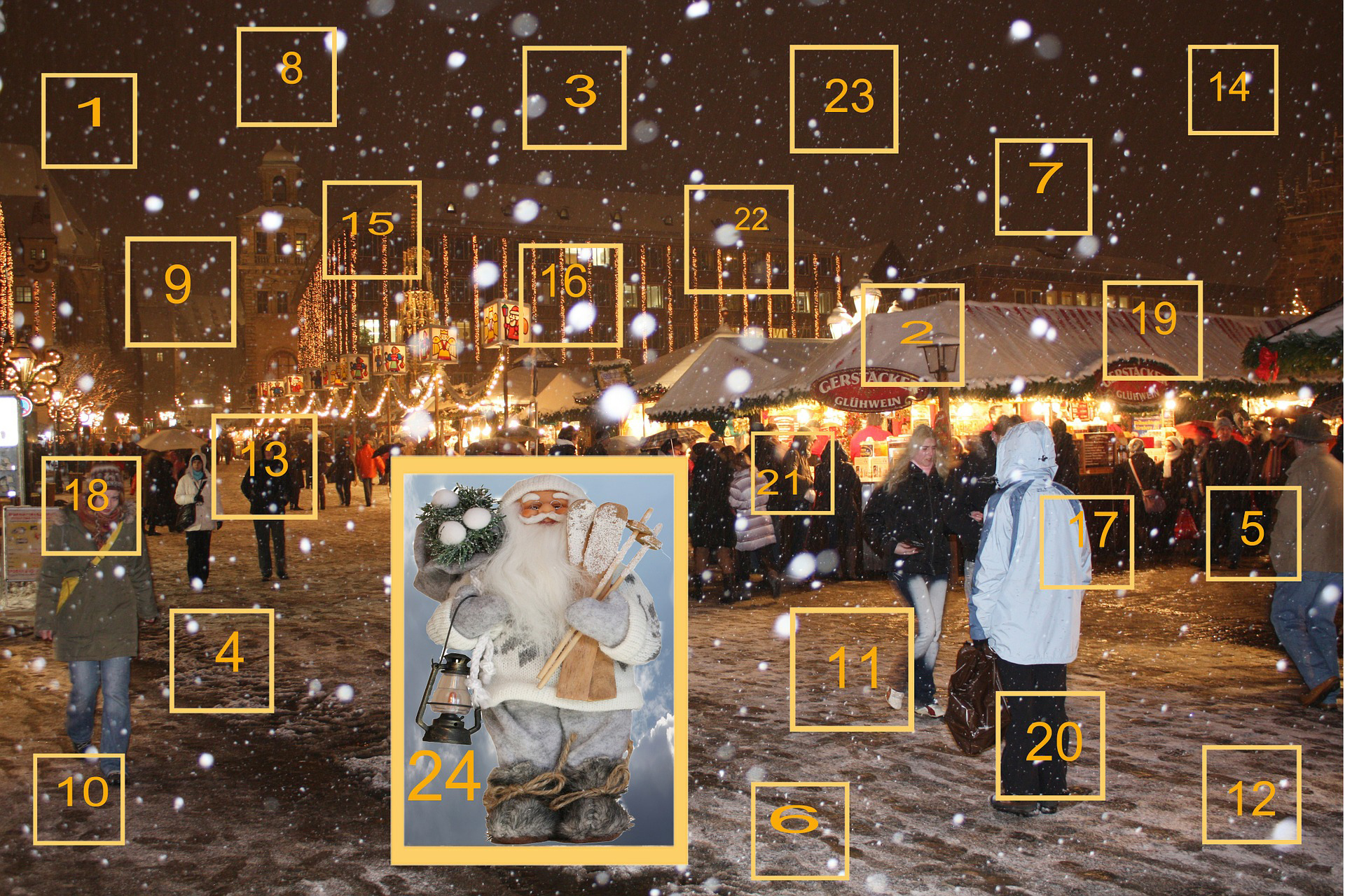Get in the holiday spirit with Christmas advent calendar apps