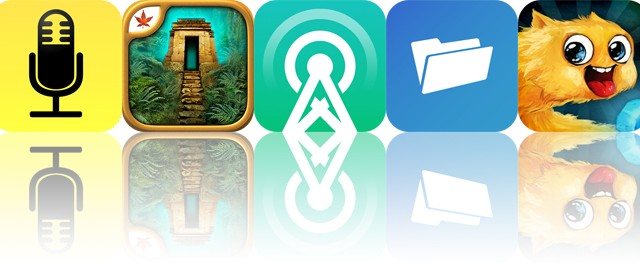 Today's apps gone free: Audio Notebook, The Lost City, Castro and more
