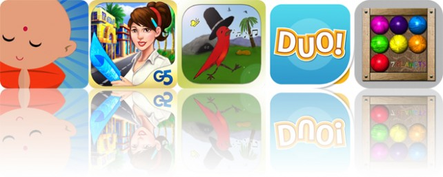 Today's apps gone free: Gratitude Journal, Build It! Miami Beach Resort, Striding Bird and more