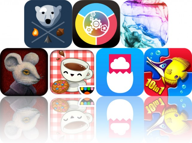 Today's apps gone free: Bear Winter, Twisty Color, Namaste and more