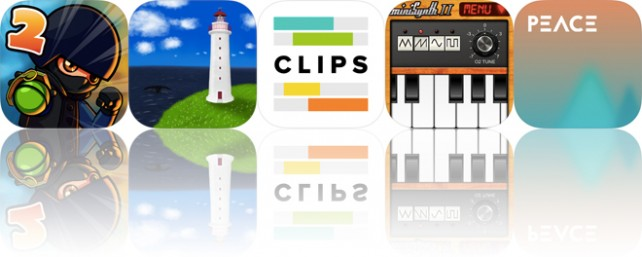 Today's apps gone free: Fragger 2, Lighthouse, Clips and more