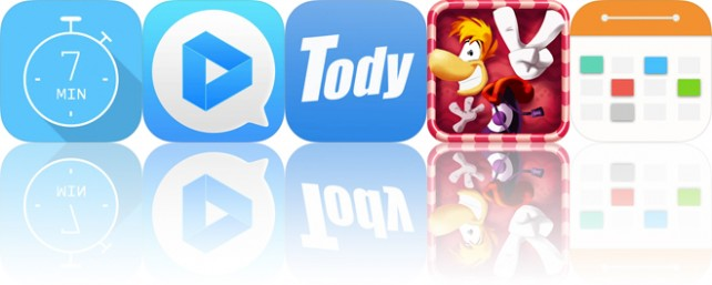 Today's apps gone free: 7 Minute Workout, iGIF, Tody and more