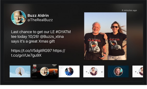 Twitter comes to the Apple TV, courtesy of AirFeed