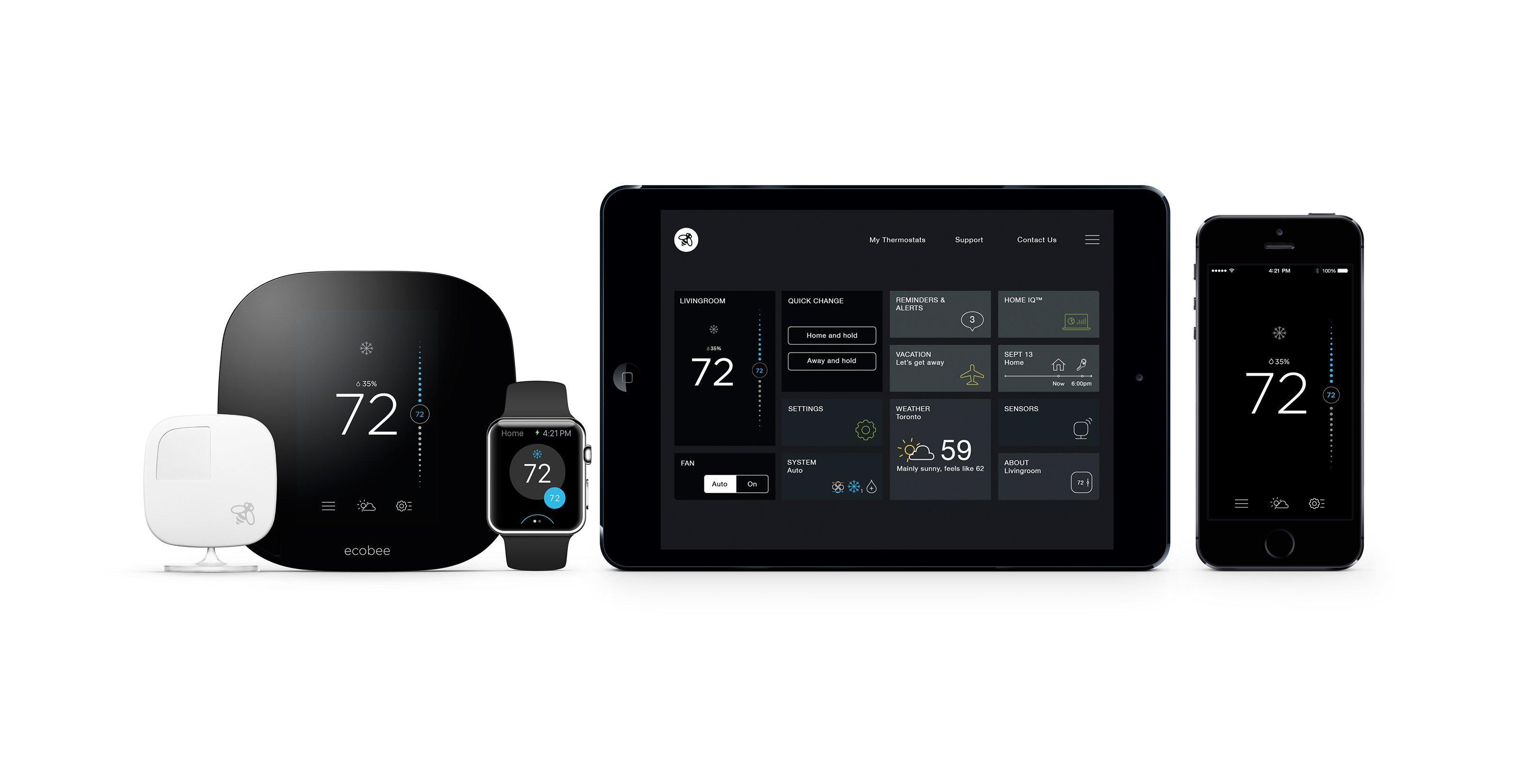 Review Ecobee3 Smart Thermostat With Apple Homekit Support