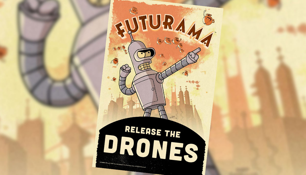 Futurama: Release the Drones is coming soon to an iPhone near you
