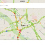 Spoken traffic alerts arrive in a Google Maps update