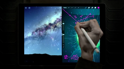 Apple's new ad suggests 'A Great Big Universe' awaits on iPad Pro