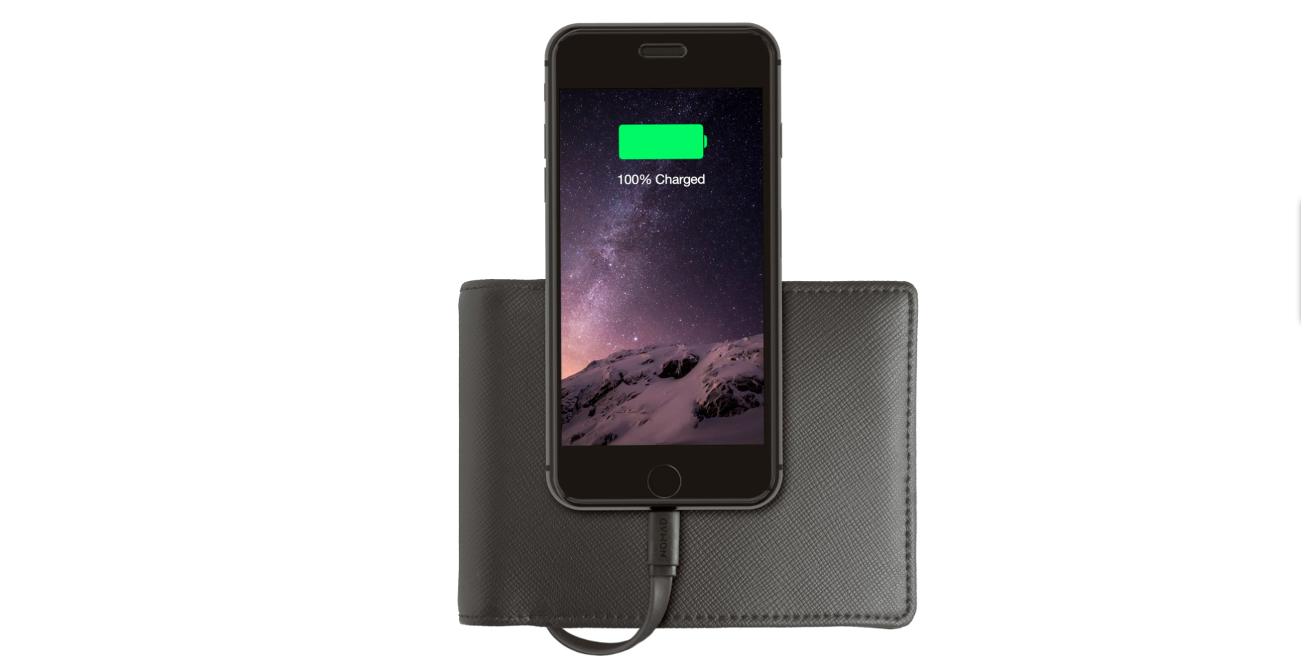 Nomad's latest iPhone accessory combines a wallet and backup battery