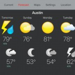 The powerful Seasonality weather tracking app blows onto the Apple TV