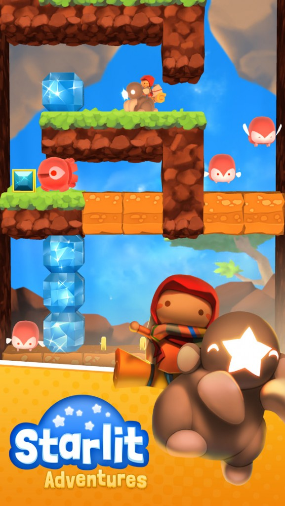 Dig, explore and collect stars in Starlit Adventures