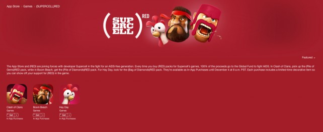 Apple and app developer Supercell join forces for a World AIDS Day campaign