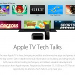 Apple announces Apple TV Tech Talks to help educate developers