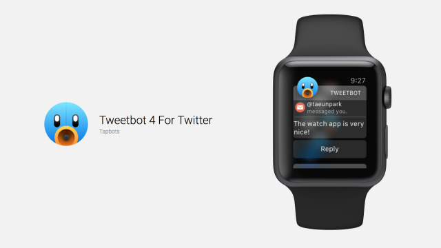 A new Tweetbot 4 update brings Apple Watch support