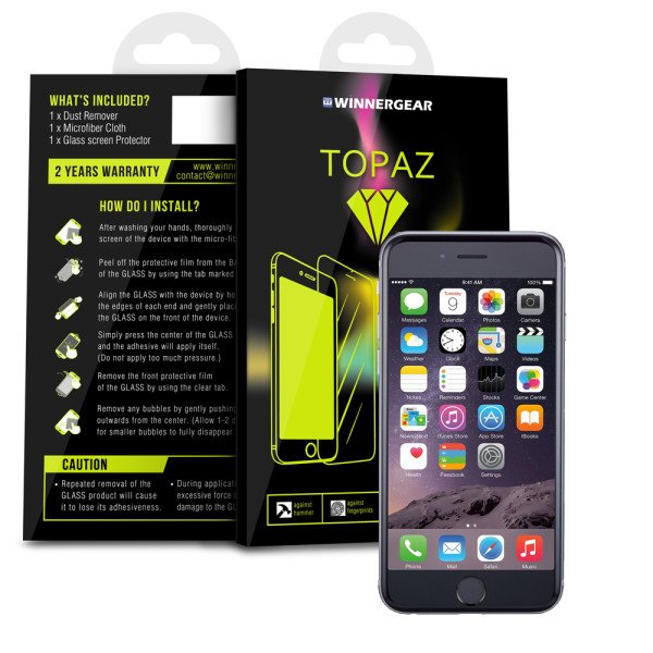 Review: Topaz curved glass iPhone screen protector