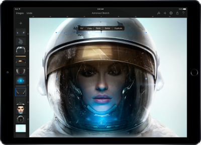 Pixelmator expands iPad Pro support with 30 new brushes