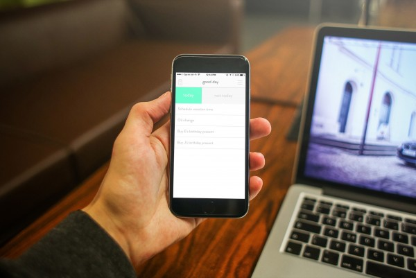 Focus on just today's tasks with daily, a simple to-do app