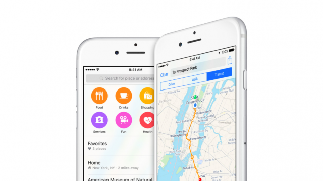 Apple Maps takes the lead over Google Maps on iOS