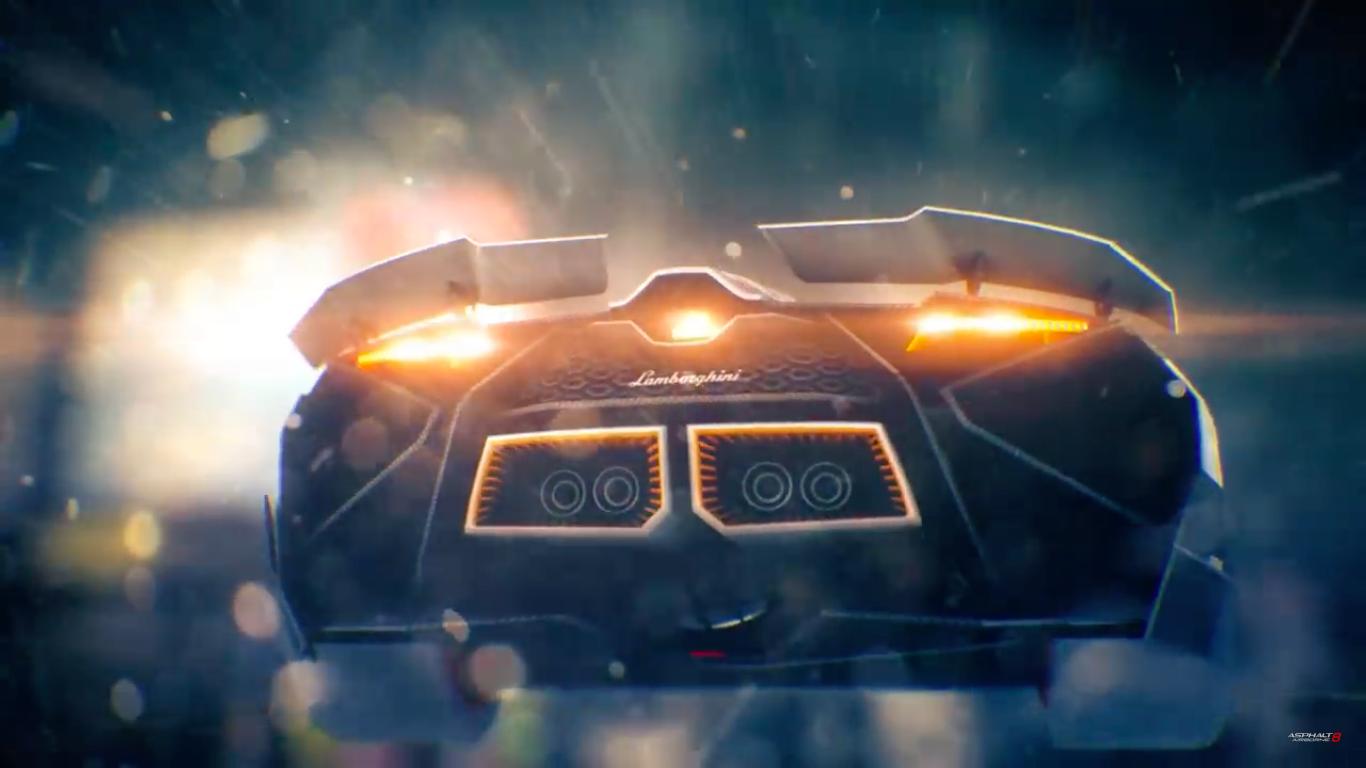 Asphalt 8- Airborne Lamborghini