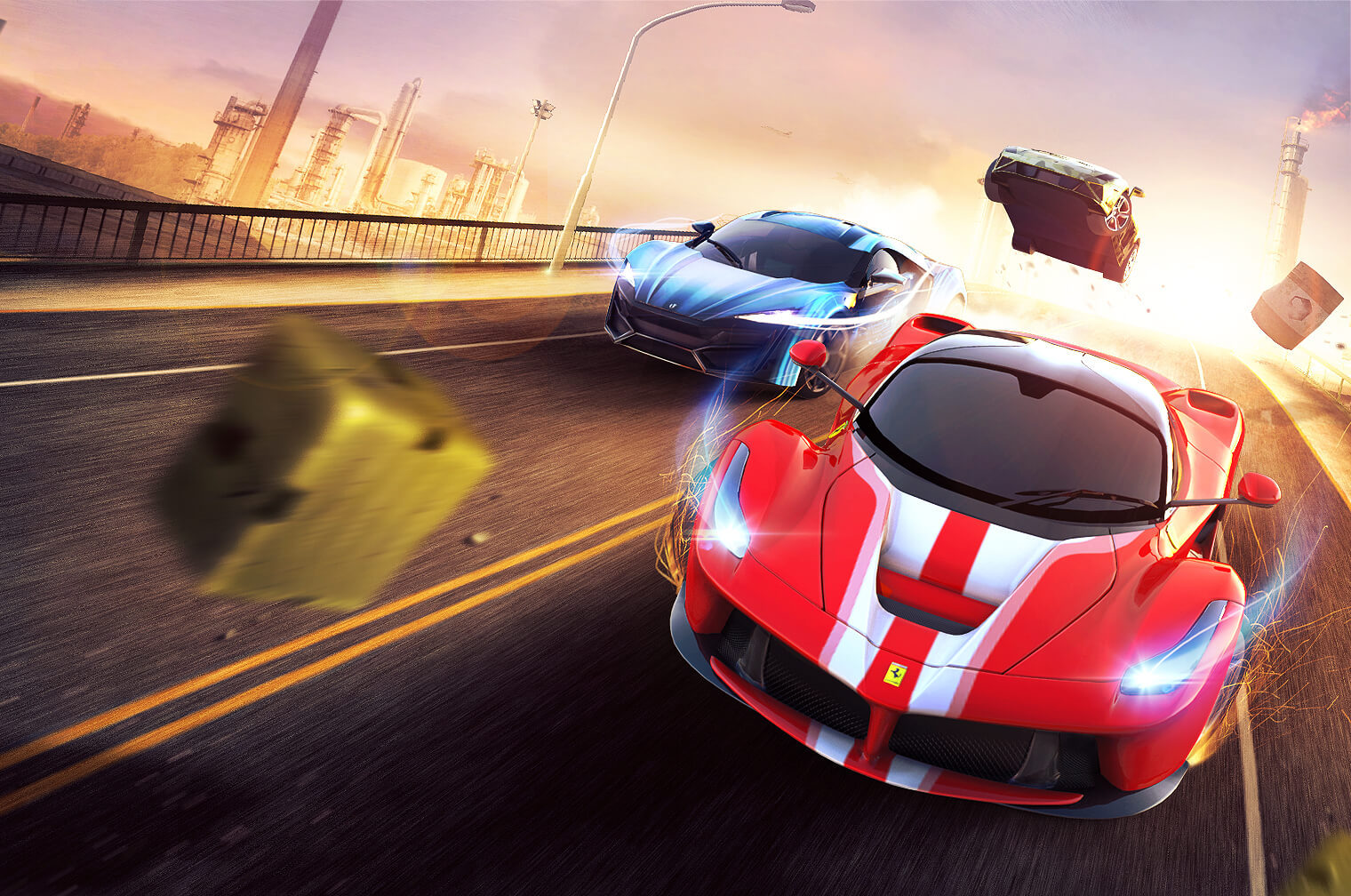 Get ready for a holiday rush in Gameloft's Asphalt 8: Airborne