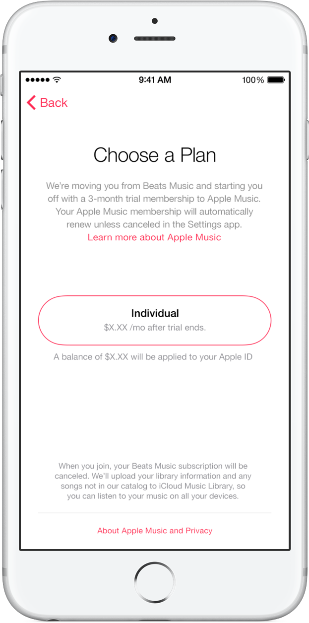 Beats Music to Apple Music