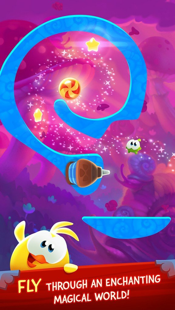 Om Nom learns some new tricks in Cut the Rope: Magic