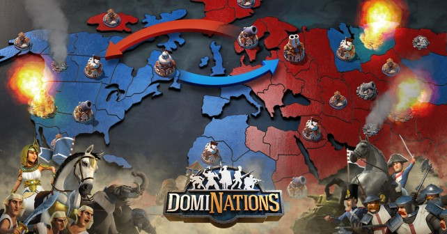 Immerse yourself in world war with DomiNations' latest update