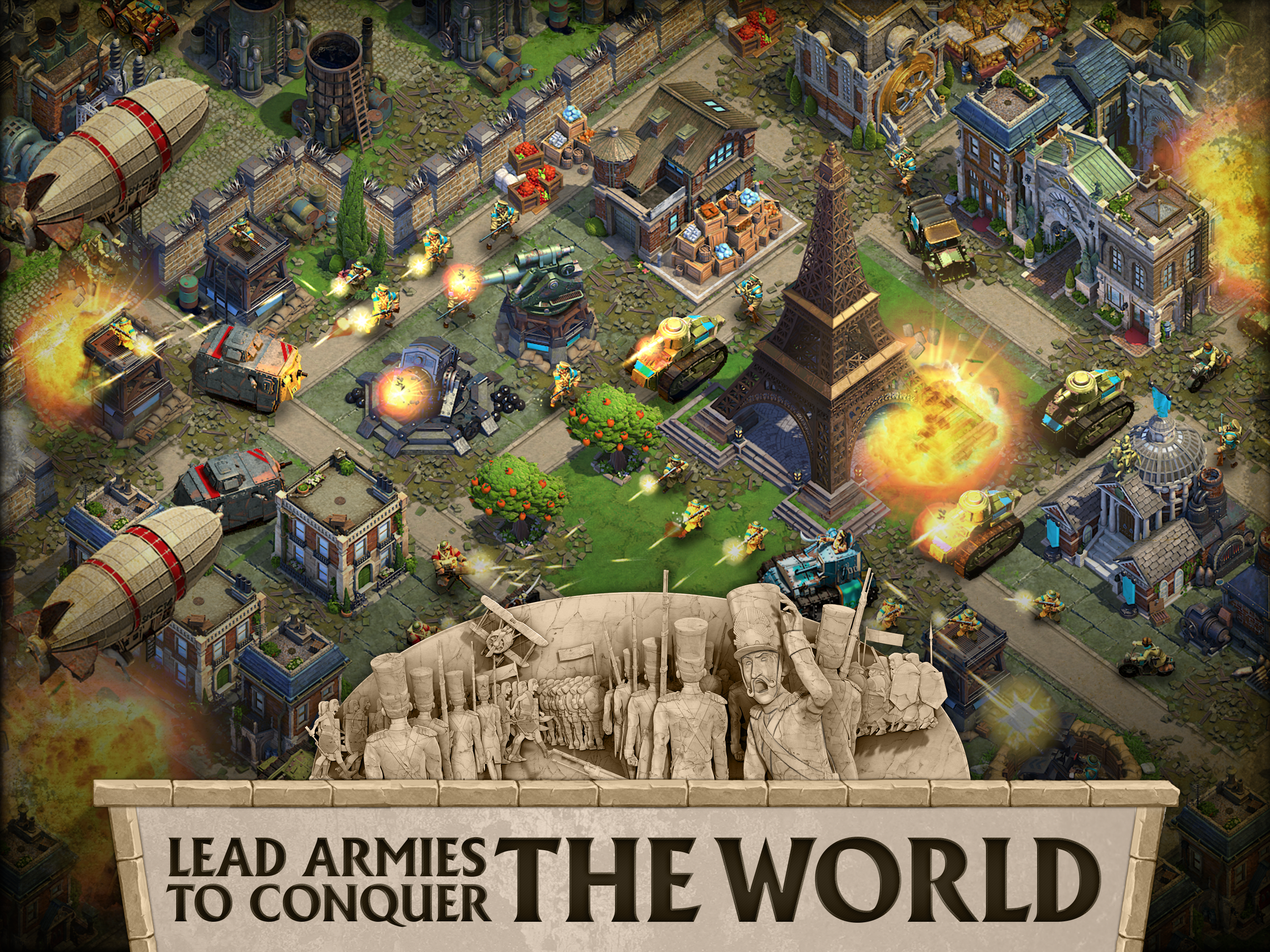Immerse yourself in world war with dominations latest update the structure of the world war gumiabroncs Image collections