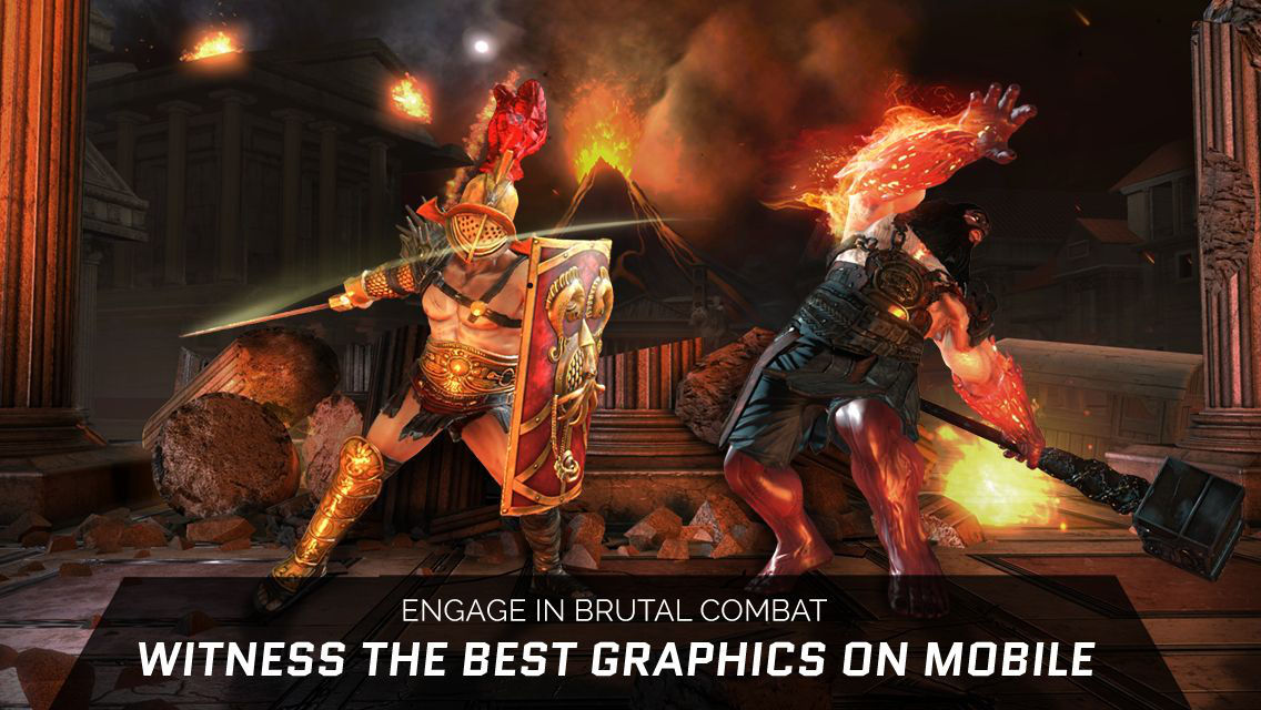 Gods of Rome graphics