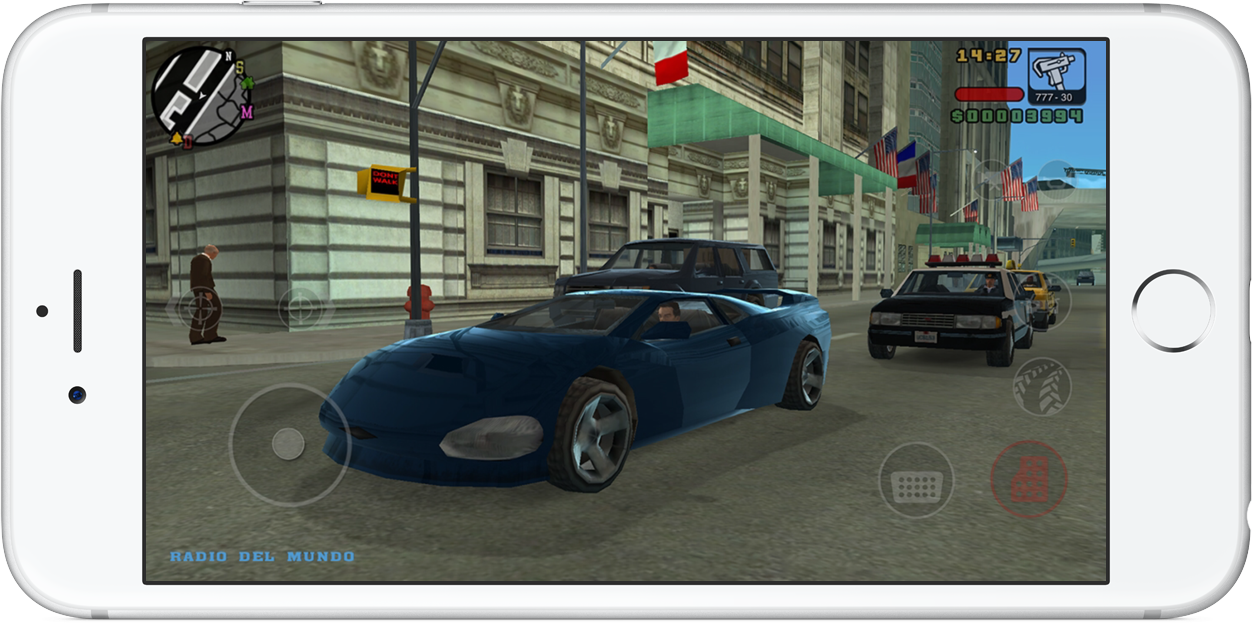Grand Theft Auto- Liberty City Stories iPhone