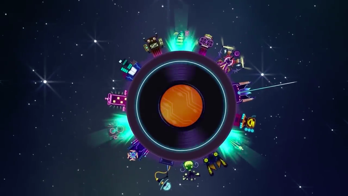 Stay sharp or get in treble in the rhythm-based clicker Groove Planet