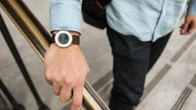 At long last, the Pebble Time is finally getting step-tracking