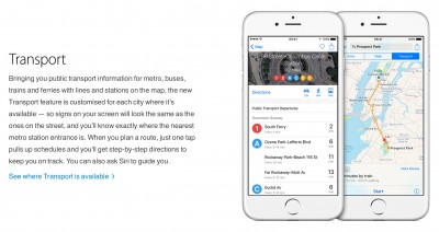 Apple's Maps app adds Los Angeles public transit information