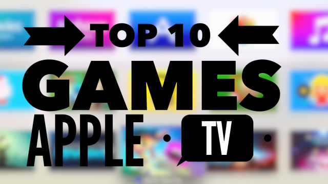 Top 10 games on Apple TV