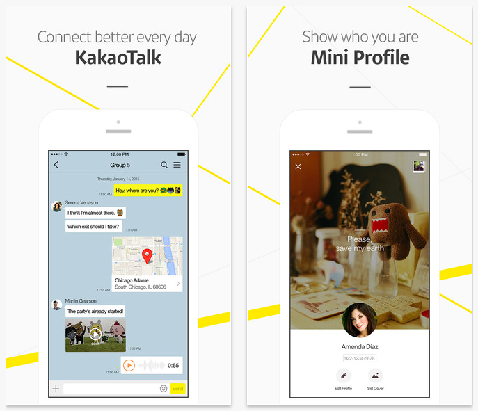 KakaoTalk iPhone