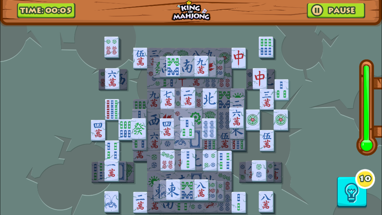King of Mahjong Solitaire