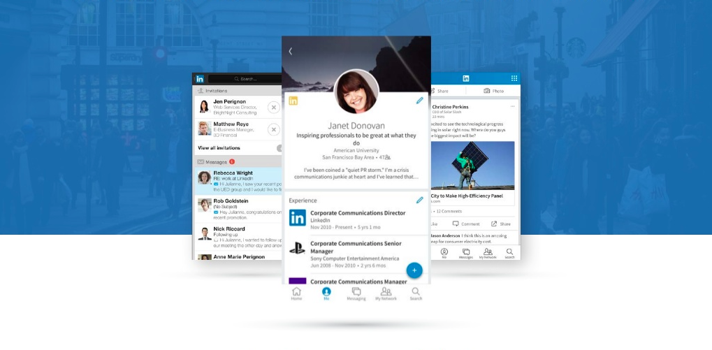 Engaging with your professional network is now easier with LinkedIn for iOS