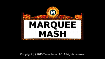 Solve clues with movie titles in the puzzler Marquee Mash