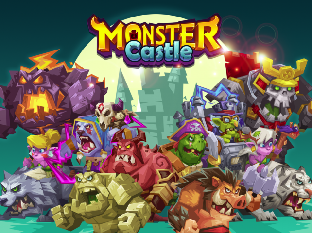 Build an army to protect your Monster Castle from evil humans