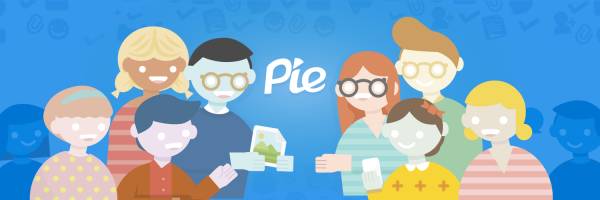 Chatting with coworkers, clients, friends and others is easy as Pie