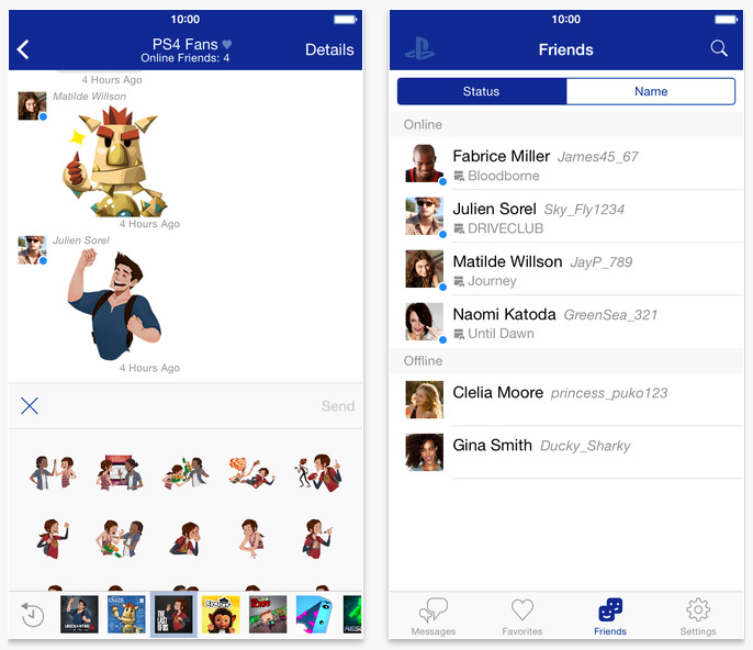 Sony releases PlayStation Messages app for chatting with