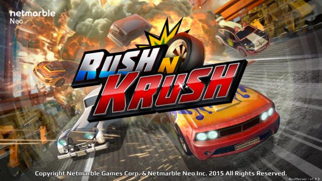 Rush N Krush from Netmarble races onto the App Store