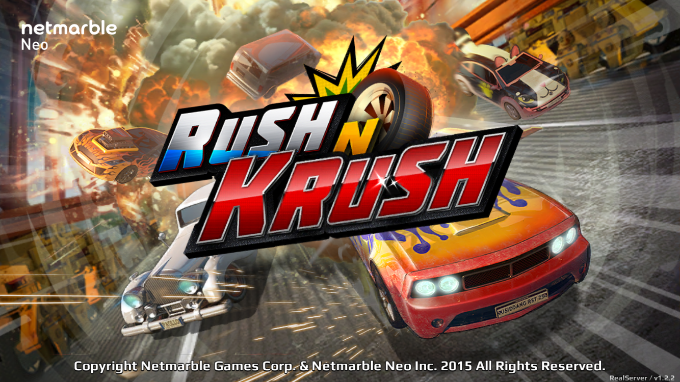 Rush N Krush from Netmarble races onto the App Store
