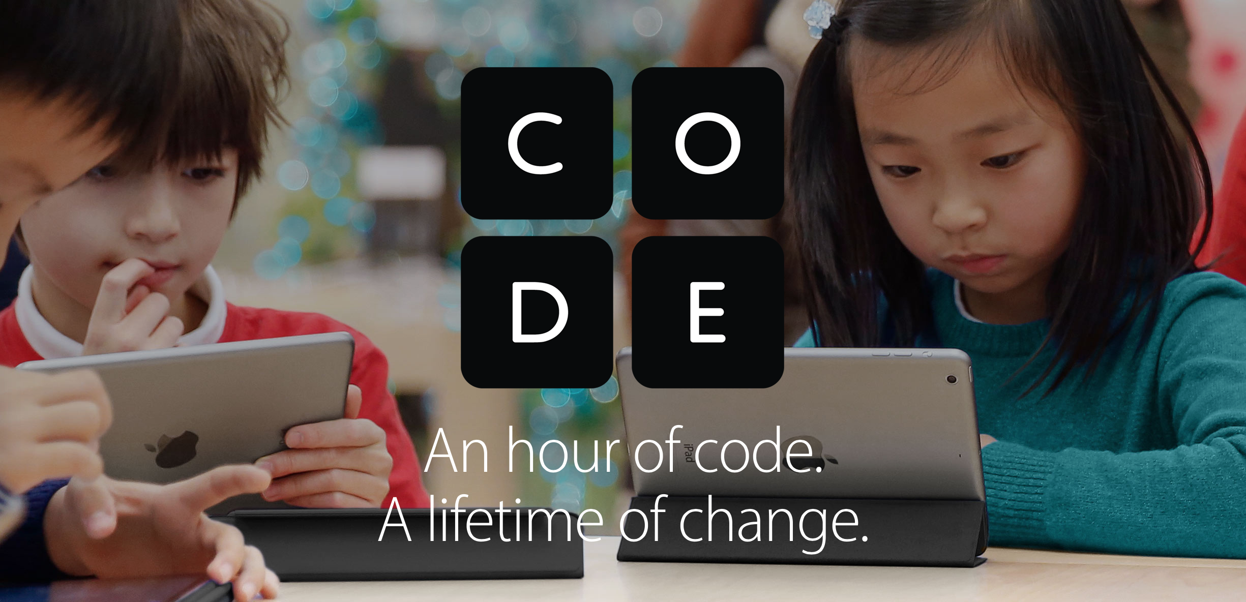 Apple's free 'Hour of Code' kids workshops are coming to stores on Dec. 10