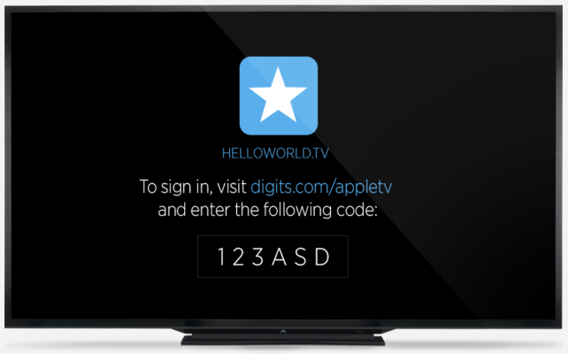 Digits for tvOS.