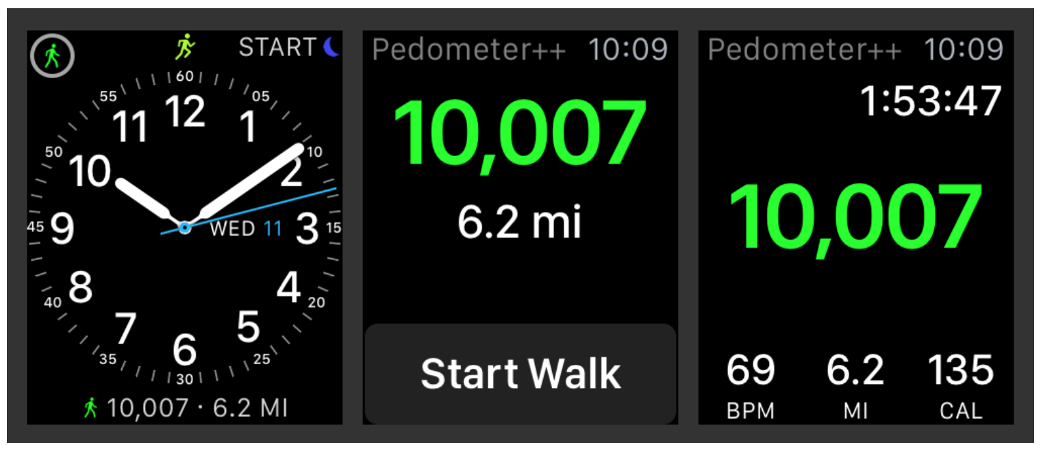 Pedometer++ embraces the Apple Watch in latest update