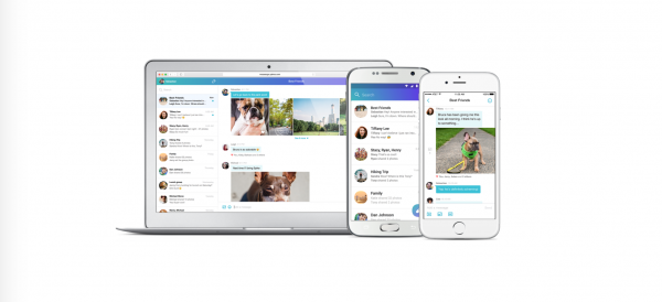 Yahoo's revamped Messenger is aimed at families and groups