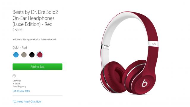 Apple is offering a $60 iTunes voucher with Beats headphones